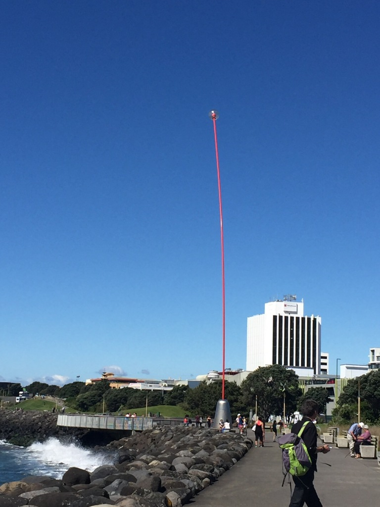 Len Lye Wind Wand - New Zealand
